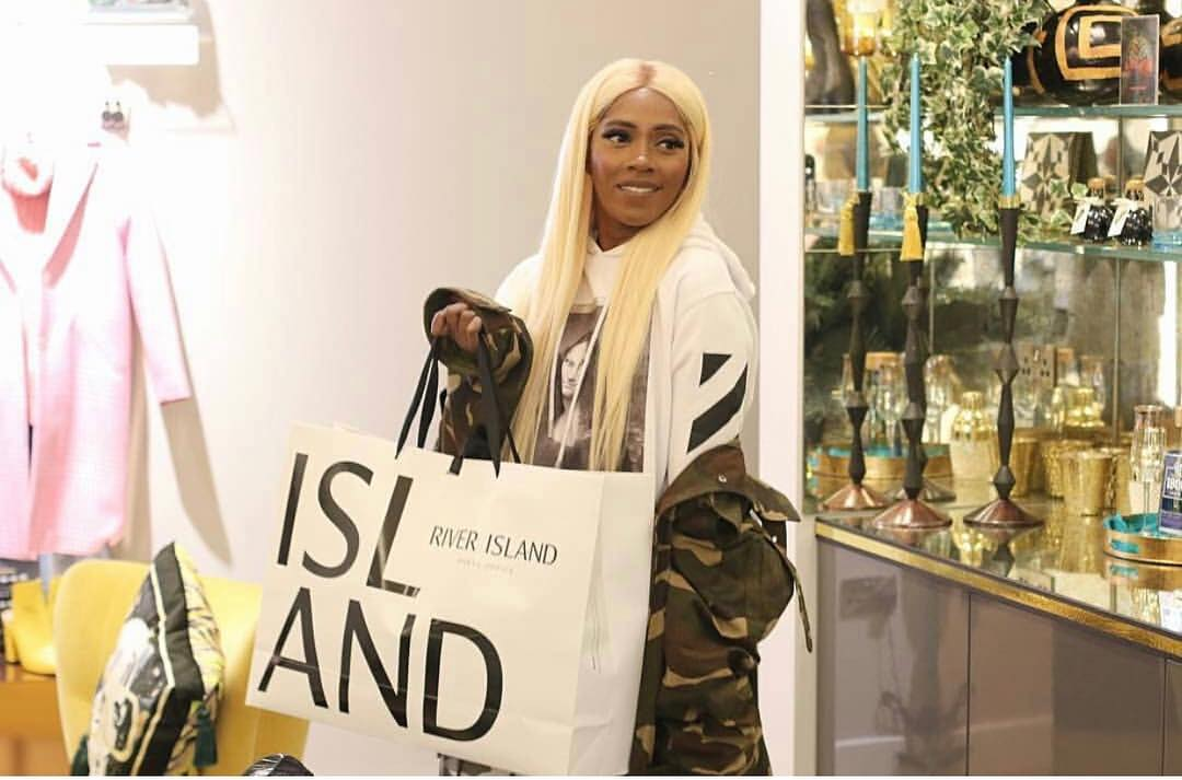 Tiwa Savage Rocking Camouflage In These Photos, Do You Think Military Force Will Come For Her? (Photos)