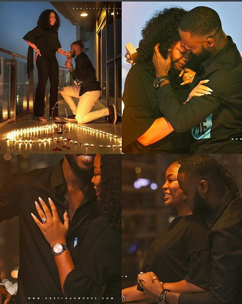 How Nigerian Photographer Proposed To His Girlfriend Surprisingly In Dubai (Photos)